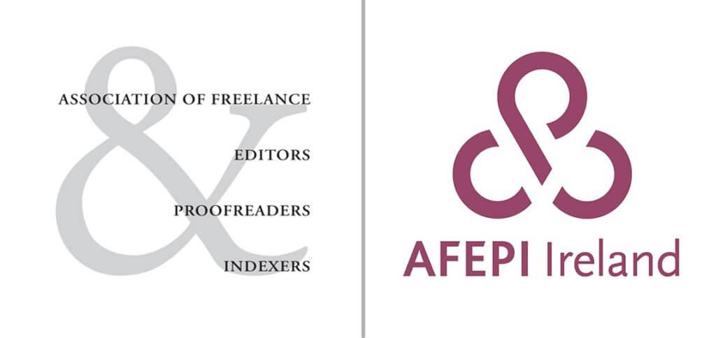 AFEPI Ireland old logo, new logo